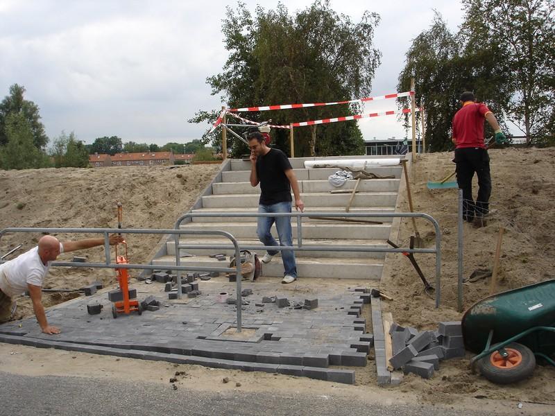 Traptreden efko beton