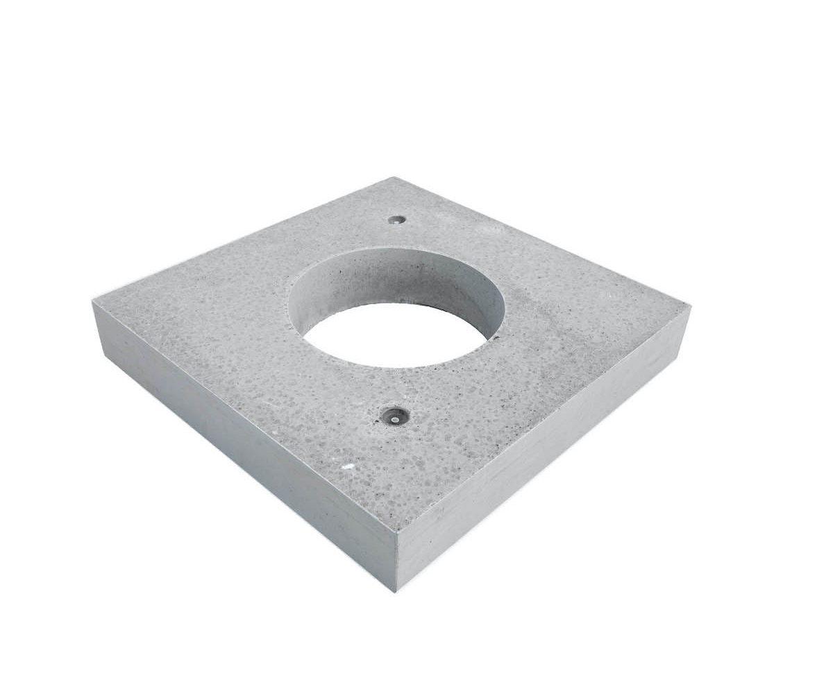 tussendeksel 120x120x20cm met mangat